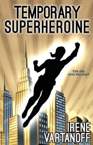 Temporary Superheroine ebook cover
